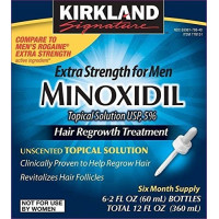 K-Signature, Hair Regrowth Treatment Extra Strength for Men 5% Minoxidil Topical Solution