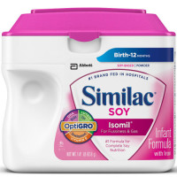 Similac, Isomil Soy Infant Formula with Iron Powder - 23.2 Ounce (0~12 Month)