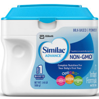Similac, Advance NON-GMO Infant Powder Formula with Iron - 1.45 LB