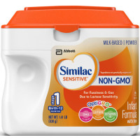 Similac, Sensitive NON-GMO Infant Powder Formula with Iron - 1.41 LB