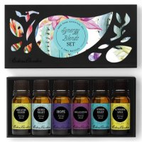 Edens Garden, Synergy Blends, 100% Pure Therapeutic Grade Essential Oils, Top 6 Basic Samp