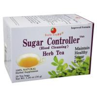 Health King, Sugar Controller (Blood Cleansing) Herb Tea, 20 Tea Bags - 1.26 oz (36 g)