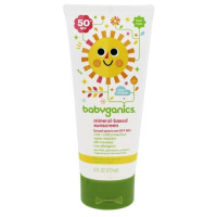 BabyGanics, Mineral-Based Baby Sunscreen Lotion, SPF 50 - 6 oz. Tube