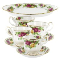 Royal Albert, Old Country Roses Tea Set Completer - 9 Piece