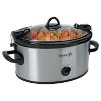 Crock-Pot, SCCPVL600-R Cook' N Carry 6-Quart Oval Manual Portable Slow Cooker