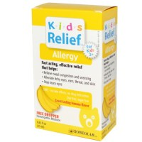 Homeolab USA, Kids Relief, Allergy for Kids 2+, Banana Flavor - 0.85 fl oz (25 ml)