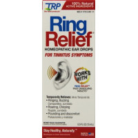 TRP Company, Ring Relief, Homeopathic Ear Drops for Tinnitus Symptoms - 0.33 fl oz.