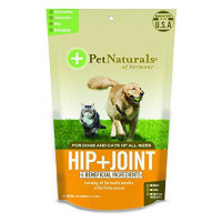 Pet Naturals, Hip Plus Joint Supplement Soft Chews for Cats and Dogs - 60 Count