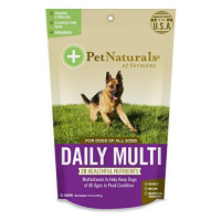 Pet Naturals, Daily Multi for Dogs, Multivitamin Chew - 30 Count
