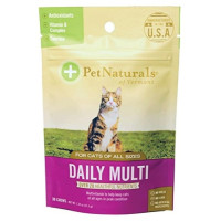 Pet Naturals, Daily Multi for Cats, Multivitamin Chew - 30 Count