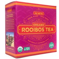 MY RED TEA, Organic 100% Pure Rooibos Tea, Natural 80 unbleached teabags - 6.8 oz (193 g)