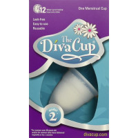 Diva Cup, Diva Feminine hygiene Menstrual Cup Model #2 (Post Childbirth or Large Size)