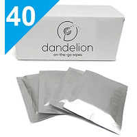 Dandelion, All Natural Unscented Menstrual Cup Cleaner - 40 Wipes