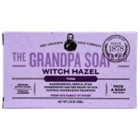 Grandpa's, Face & Body Bar Soap, Tone, Witch Hazel - 4.25 oz (120 g)