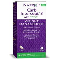 Natrol, Carb Intercept 3 - 60 Capsules