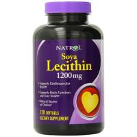 Natrol, Soya Lecithin, 1200 mg - 120 Softgels