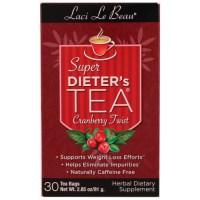 Natrol, Laci Le Beau, Super Dieter's Tea, Cranberry Twist, 30 Tea Bags - 2.85 oz (81 g)