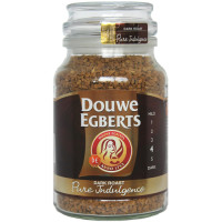 Douwe Egberts, Pure Indulgence Instant Coffee in Jar, Dark Roast - 7.05 oz. (200 g)