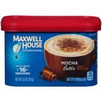 Maxwell House, International Coffee, Mocha Latte - 8.5 oz (241 g) x 2 Packs