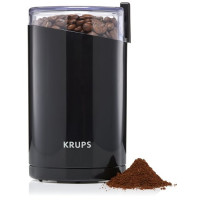 KRUPS, Electric Spice and Coffee Grinder with Stainless Steel Blades - 3-Ounce  (Black)