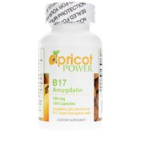Apricot Power, Amygdalina B17, 100 mg - 100 Capsules