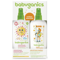BabyGanics, Mineral-Based Baby Sunscreen Spray SPF 50, 6 oz Spray Bottle + Natural Insect