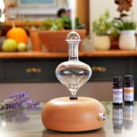 Aromis, Professional Grade Wood and Glass Aromatherapy Diffuser - Orbis Nox Merus