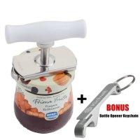 KCHW, Stainless Jar Opener and Bottle Opener