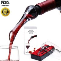 Baen Sendi, Wine Aerator Pourer, Aerating Wine Pourer, Premium Wine Decanter