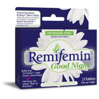 Enzymatic Therapy, Remifemin, Good Night - 21 Tablets