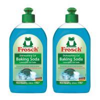 Frosch, Natural Baking Soda Liquid Hand Dish Washing Soap, 500 ml - Pack of 2