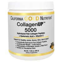 California Gold Nutrition, Collagen UP 5000, Marine Sourced Collagen Peptides + Hyaluronic