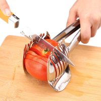 BestUtensils, Stainless Steel Onion Holder, Tomato Slicer, Lemon Cutter