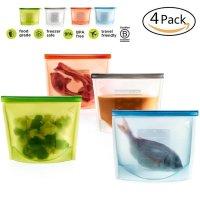 Danny House, Silicone Food Bag Versatile Kitchen Utensil Set - 4 Pcs
