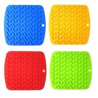 Jiaoyabuy, Vesitile Silicone Pot Holders, Flexible, Durable, Heat Resistant Mat - Set of 2