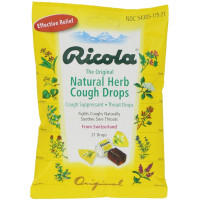 Ricola, Original Herb Cough & Throat Drops - 21 Drops