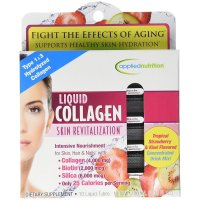 Applied Nutrition, Liquid Collagen Skin Revitalization - 10 Tubes (10ml Each)