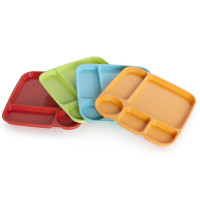 Nordic Ware, Party Trays, Assorted Colors, Set of 4