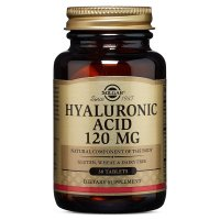 Solgar, Hyaluronic Acid, 120 mg - 30 Tablets