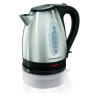 Hamilton Beach, Stainless Steel Electric Kettle - 1.7 Liter (Silver)