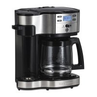 Hamilton Beach, Single Serve Coffee Brewer and Full Pot Coffee Maker