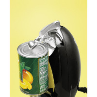 HMB, Classic Chrome Heavyweight Can Opener - Black
