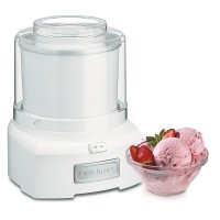 Cuisinart, 1.5 Quart Frozen Yogurt-Ice Cream Maker (White)