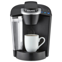KRG, Single Serve Programmable K-Cup Pod Coffee Maker - Black