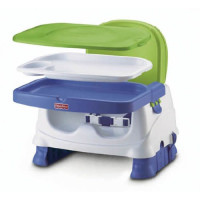 FSHP, Healthy Care Deluxe Booster Seat - Blue/Green/Gray