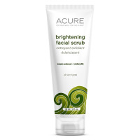 Acure Organics, Brightening Facial Scrub - 4 Ounce