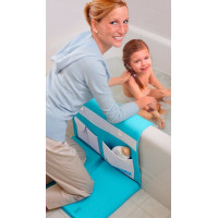 Aquatopia, Deluxe Safety Easy Memory Foam Bath Kneeler - Blue