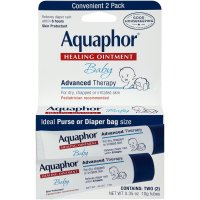 Aquaphor, Baby Healing Ointment - 0.35 oz (10 g) x 2 Packs