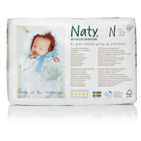 Naty by Nature Babycare, Eco-Friendly Disposable Baby Diapers (Newborn ~ Size 4)