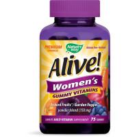 Nature's Way, Alive! Women's Vitamins - 75 Gummies